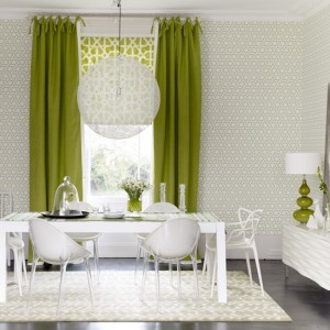Green Pattern Room